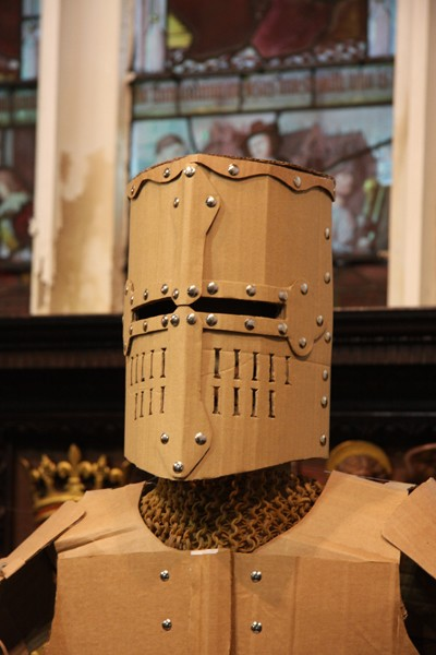 Wearable armour costume mark o 39 brien mob cardboard for Cardboard armour template
